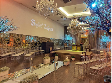 Projeto Mini Wedding Arena Tulipas