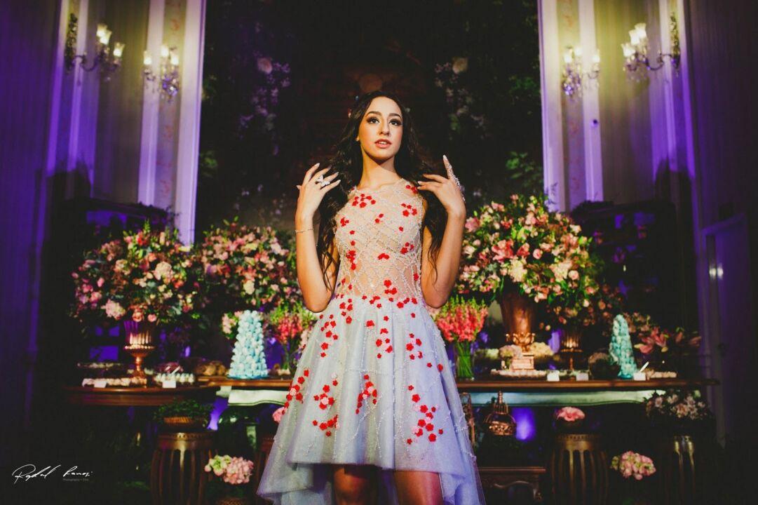 vestido de debutante