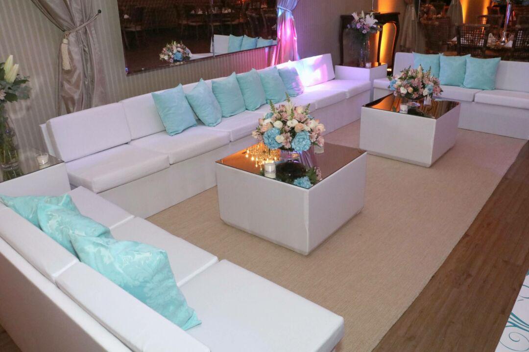 Exemplo de lounge casamento