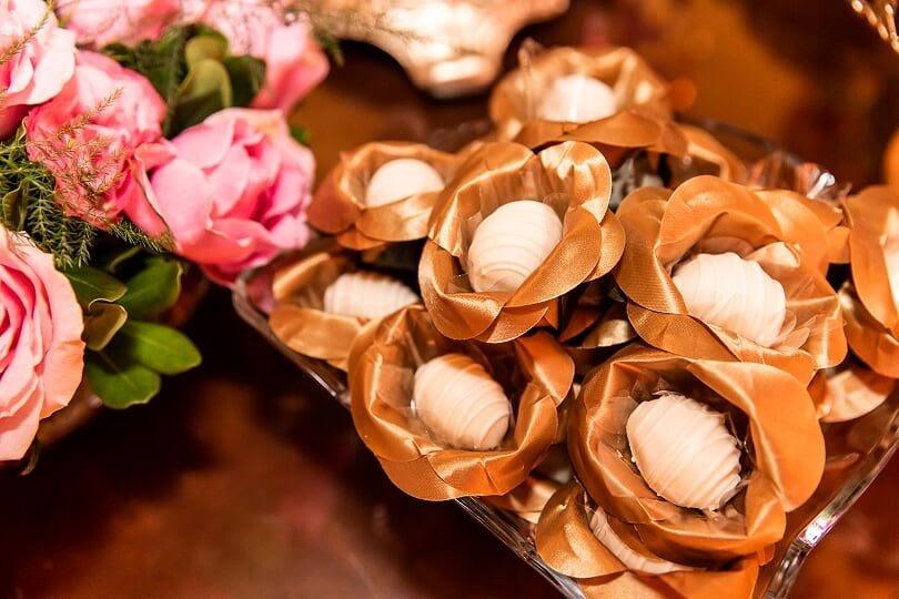 doces para o cardápio de casamento