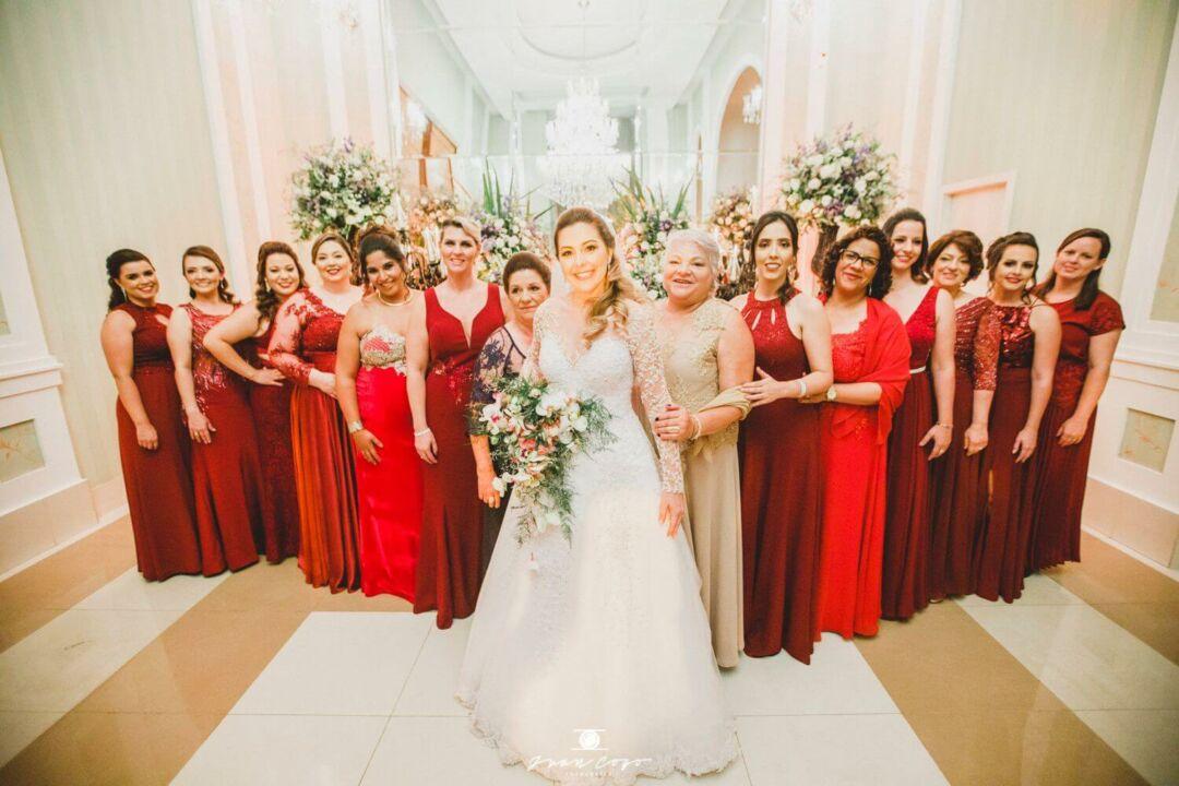 traje das madrinhas de casamento