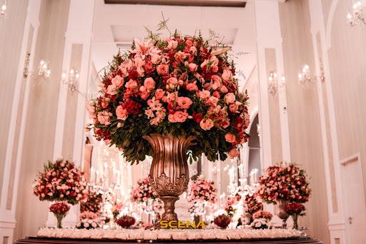 visual incrível para a cerimônia de noivado